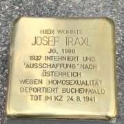 Stolpersteinfoto Josef Traxl Zuerich 2020, neu