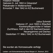 Tafel für Buchenwald